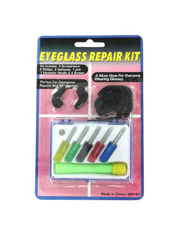 Eyeglass Repair Kit with Case (Available in a pack of 24)