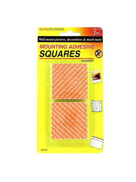 Mounting Adhesive Squares (Available in a pack of 12)