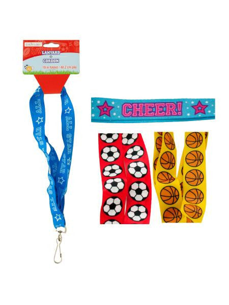 Sports Lanyard (Available in a pack of 24)