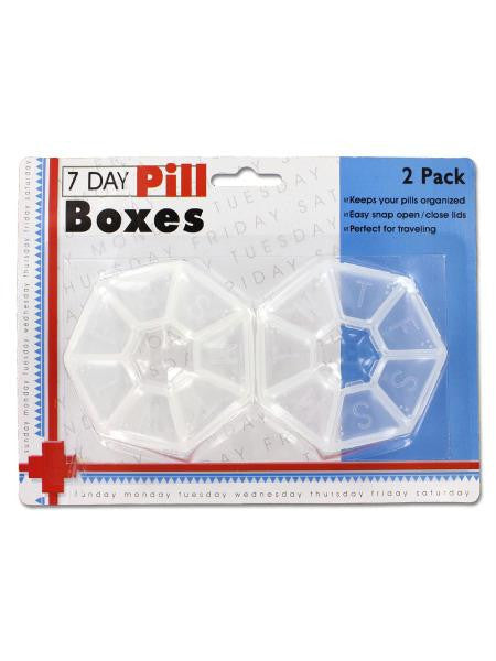 7-Day Pill Box Set (Available in a pack of 24)