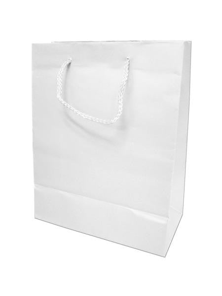 White Gift Bag (Available in a pack of 24)