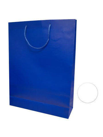 Large Blue & White Gift Bag (Available in a pack of 24)