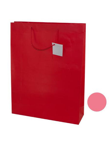 Large Pink & Red Gift Bag (Available in a pack of 24)