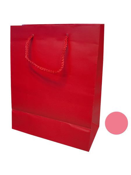 Medium Pink & Red Gift Bag (Available in a pack of 24)
