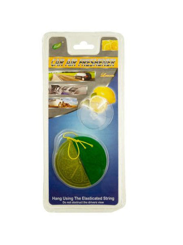 Lemon Lime Car Air Freshener (Available in a pack of 24)