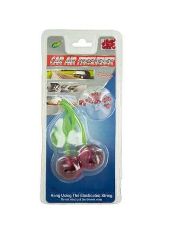 Cherry Car Air Freshener (Available in a pack of 24)