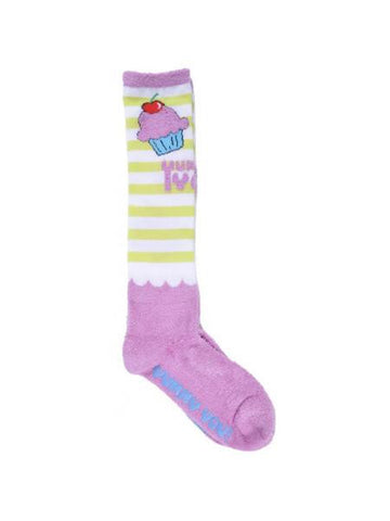 Yummy You Striped Knee Socks (Available in a pack of 25)