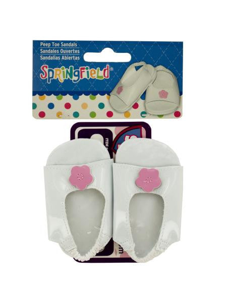 Peep Toe Sandals Doll Accessory (Available in a pack of 24)
