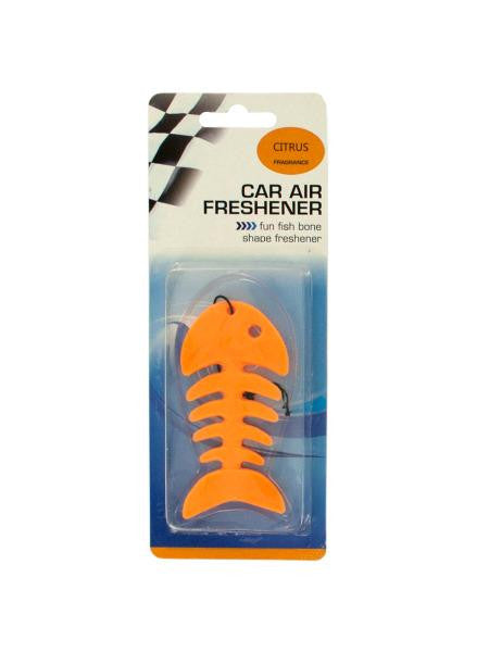 Fish Bone Car Air Freshener (Available in a pack of 24)