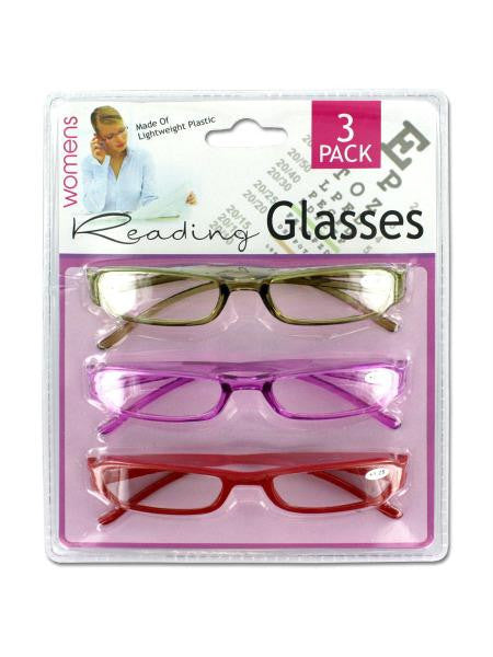 Women's Reading Glasses (Available in a pack of 4)