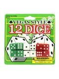 Casino Style Dice (Available in a pack of 24)