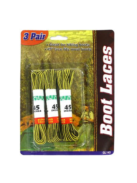 Nylon Boot Laces (Available in a pack of 24)
