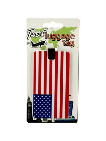 American Flag Luggage Tag (Available in a pack of 24)