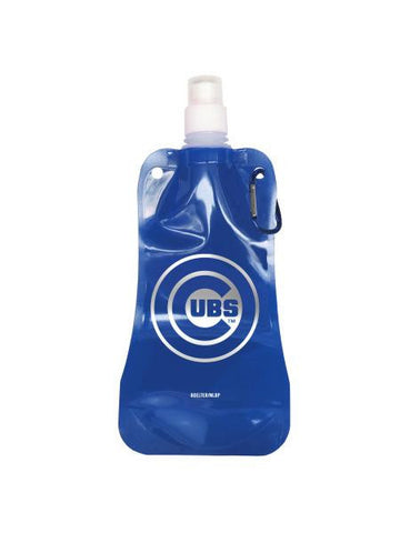 Chicago Cubs Foldable Water Bottle (Available in a pack of 12)