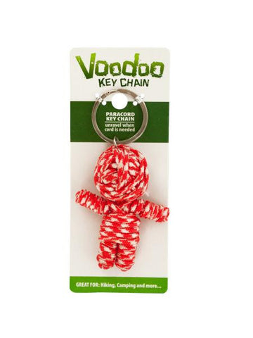 Voodoo Doll Paracord Key Chain (Available in a pack of 24)