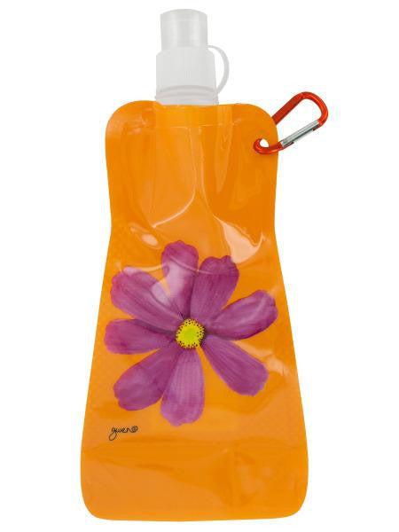 Orange Cosmos Reusable Water Bottle (Available in a pack of 24)