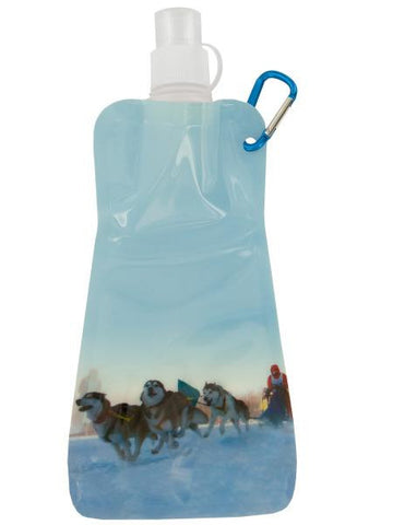 Dog Sled Reusable Water Bottle (Available in a pack of 24)
