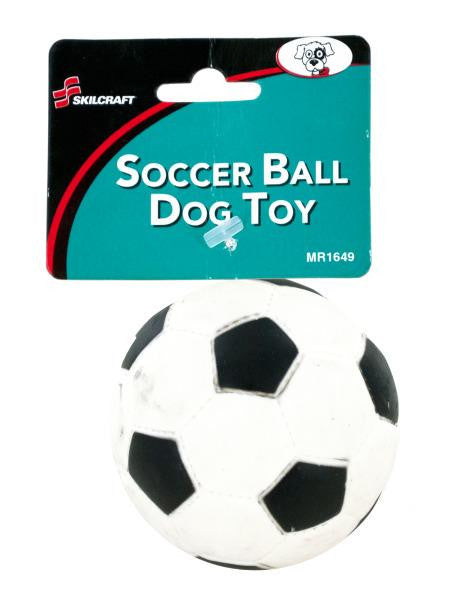 Squeaky Soccer Ball Dog Toy (Available in a pack of 20)