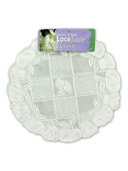 Lace Table Doilies (Available in a pack of 24)