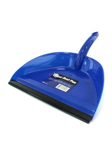 Wide Mouth Dust Pan with Rubber Edge (Available in a pack of 24)