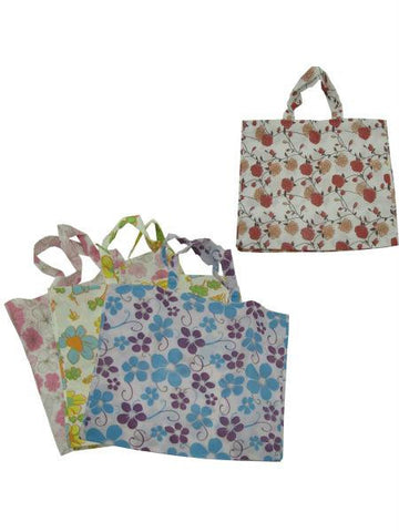 Large Flower Tote Bag (Available in a pack of 24)