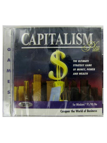 Capitalism Plus PC game (Available in a pack of 20)