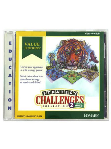 Strategy Challenges software (Available in a pack of 30)