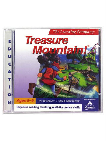 The Learning Company Treasure Mountain PC game (Available in a pack of 20)