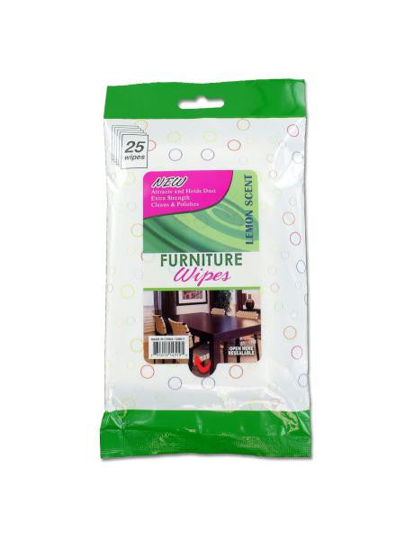 Furniture Wipes (Available in a pack of 12)