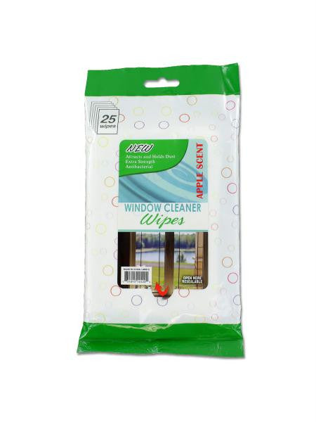 Window Cleaning Wipes (Available in a pack of 12)