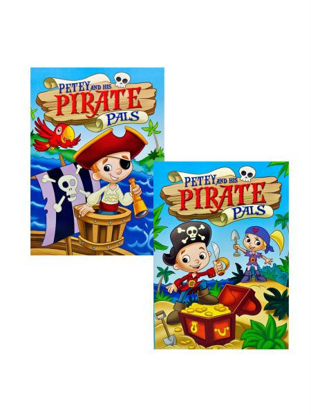 Petey and His Pirate Pals Coloring Book (Available in a pack of 24)