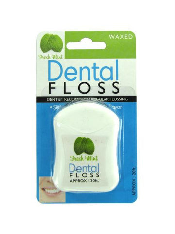 Fresh Mint Dental Floss (Available in a pack of 24)