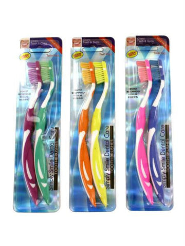 Medium Bristle Toothbrushes Set (Available in a pack of 24)