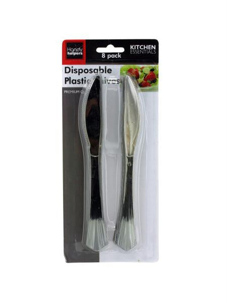 Disposable Plastic Knives (Available in a pack of 12)