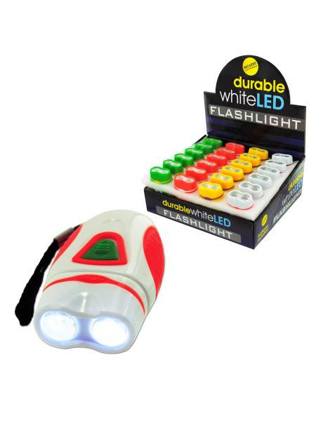 Durable Mini LED Flashlight Countertop Display (Available in a pack of 24)