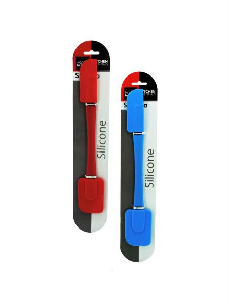 Double-Sided Silicone Spatula (Available in a pack of 12)