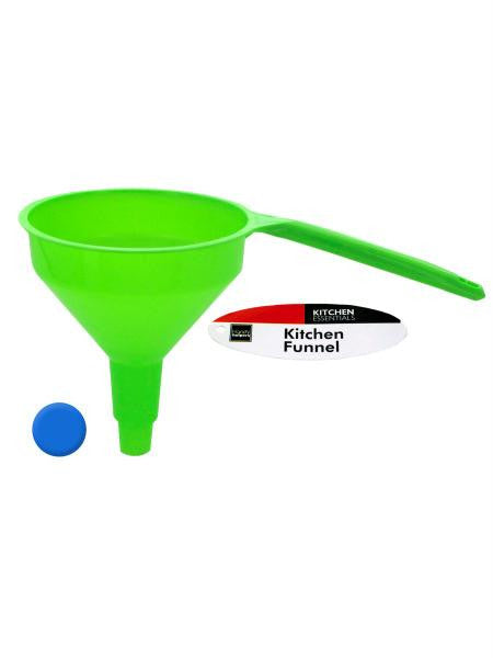 Kitchen Funnel with Handle (Available in a pack of 24)