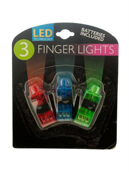 LED Finger Lights (Available in a pack of 24)