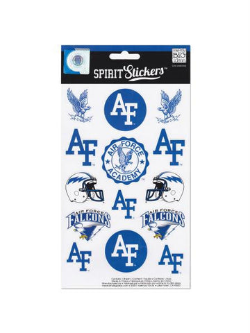 Air Force Spirit Stickers (Available in a pack of 24)