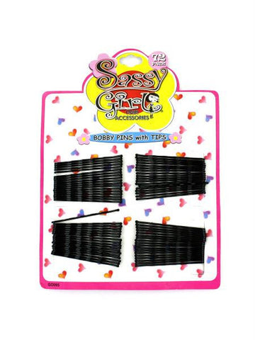 Black Bobby Pin Set (Available in a pack of 24)