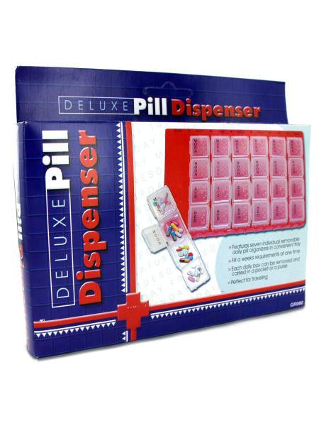 Deluxe Pill Dispenser (Available in a pack of 36)