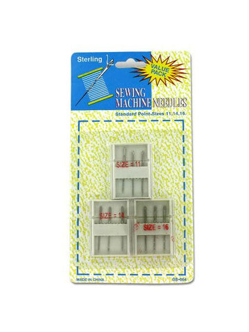 Sewing Machine Needles with Cases (Available in a pack of 24)