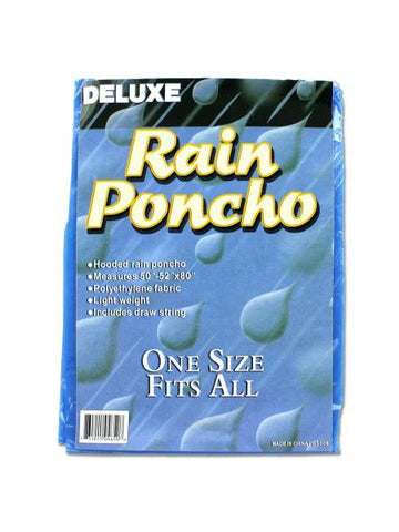 Hooded Rain Poncho (Available in a pack of 24)