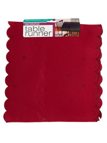 Decorative Table Runner (Available in a pack of 24)