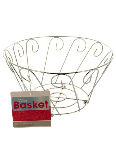 Wire Decor Basket (Available in a pack of 12)