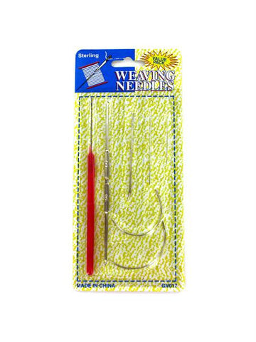 Weaving Needle Set (Available in a pack of 12)