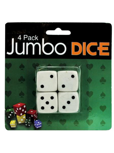 Jumbo Dice (Available in a pack of 24)