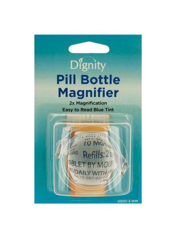 Pill Bottle Magnifier (Available in a pack of 24)