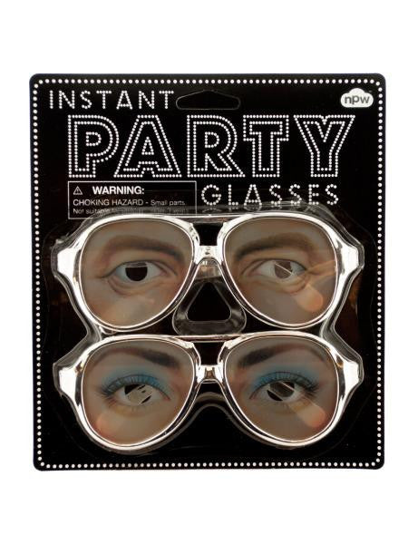 Instant Party Glasses (Available in a pack of 24)