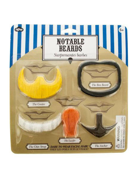 Notable Beards Set (Available in a pack of 24)